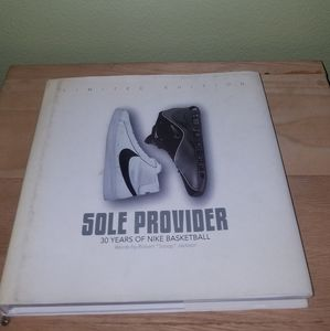 Nike Sole Provider Basketball Book Author Signed